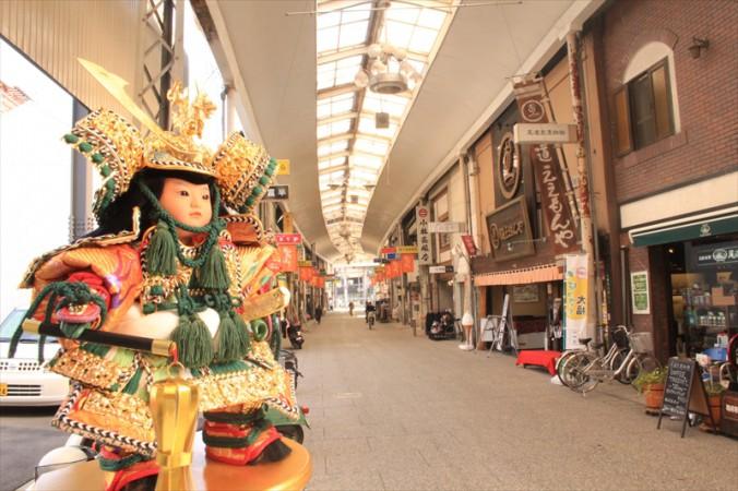 平日午前の尾道商店街